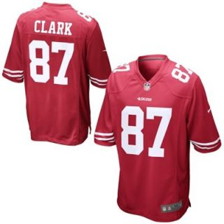 Nike Dwight Clark San Francisco 49ers Retired Player Jersey   Scarlet