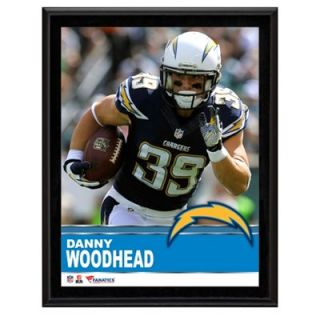 Danny Woodhead San Diego Chargers Sublimated 10.5 x 13 Plaque
