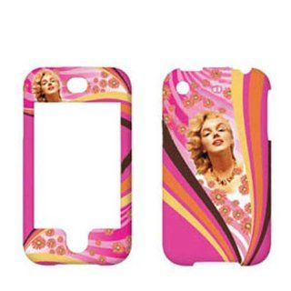 Hard Plastic Snap on Cover Fits Apple iPhone Marilyn Monroe 002 AT&T (does NOT fit Apple iPhone 3G/3GS or iPhone 4/4S or iPhone 5/5S/5C) Cell Phones & Accessories