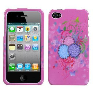 Hard Plastic Snap on Cover Fits Apple iPhone 4 4S Garden Sundae Plus A Free LCD Screen Protector AT&T, Verizon (does NOT fit Apple iPhone or iPhone 3G/3GS or iPhone 5/5S/5C) Cell Phones & Accessories