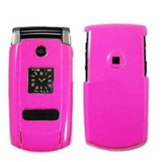 Hard Plastic Snap on Cover Fits Samsung U700 Gleam Solid Hot Pink Verizon (does NOT fit Samsung U700 in Germany) Cell Phones & Accessories