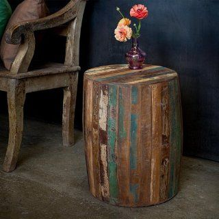 Reclaimed Wood End Table   Rustic Coffee Table