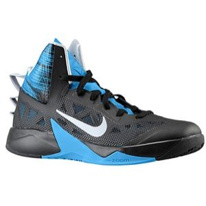 Nike Zoom Hyperfuse 2013   Mens   Basketball   Shoes   Pure Platinum/Dark Grey/Black