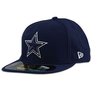 New Era NFL 59Fifty Sideline Cap   Mens   Football   Accessories   Dallas Cowboys   Navy
