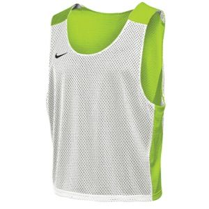 Nike Lax Reversible Mesh Tank   Mens   Lacrosse   Clothing   Volt/White