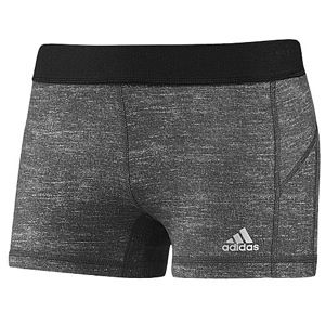 adidas Techfit 3 Boy Shorts   Womens   Training   Clothing   Dark Grey Heather