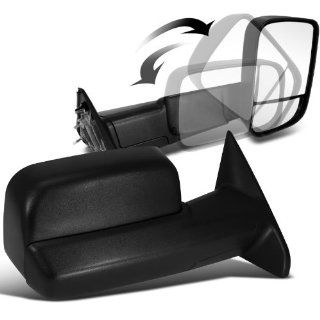 Dodge Ram 2500 3500 Slt Sxt Black Towing Extendable Manual Side Mirrors Automotive