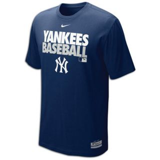 Nike MLB Dri Fit Graphic T Shirt   Mens   Baseball   Clothing   New York Yankees   Navy