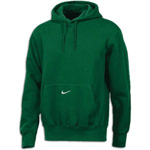 Nike Core Fleece Pullover Hoodie   Mens   For All Sports   Clothing   Dark Green/White