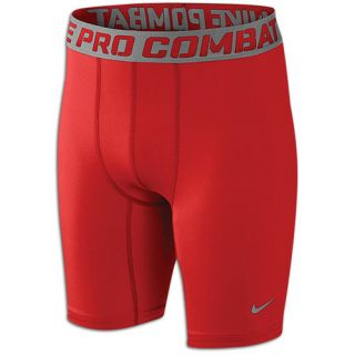 Nike Pro Combat Core Compression Shorts   Boys Grade School   Training   Clothing   Gym Red/Cool Grey