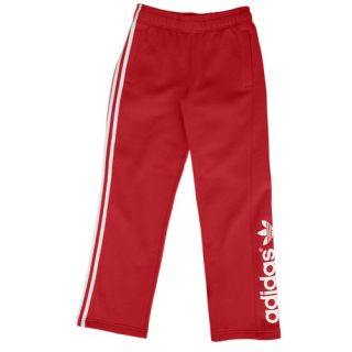 adidas Originals Logo Fleece Pants   Youth   Casual   Clothing   University Red/White