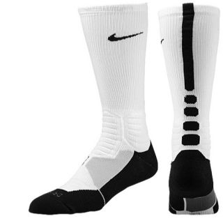 Nike Hyper Elite Basketball Crew Socks   Mens   Basketball   Accessories   White/Black