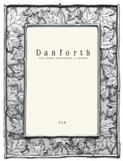 Danforth   Maple Leaf 4x6 Pewter Picture Frame (Classic)