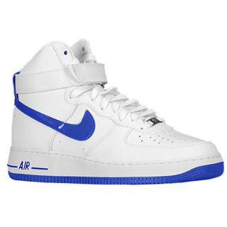 Nike Air Force 1 High   Mens   Basketball   Shoes   White/Hyper Blue