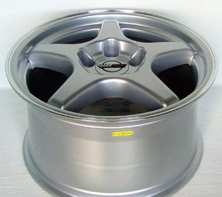 Pontiac Trans Am ZR Style Wheel Silver Wheels Rims 1993 1994 1995 1996 1997 1998 1999 2000 2001 2002 93 94 95 96 97 98 99 00 01 02 Automotive
