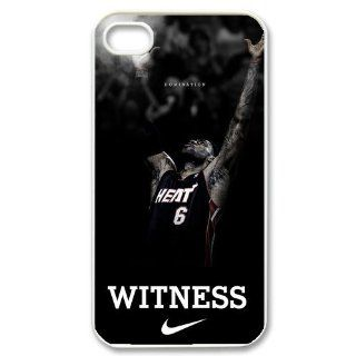 Miami Heat star LeBron James Iphone 4/4s Hard Cover Case Cell Phones & Accessories