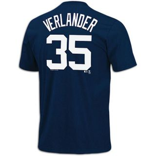 Majestic MLB Name and Number T Shirt   Mens   Baseball   Clothing   Detroit Tigers   Navy