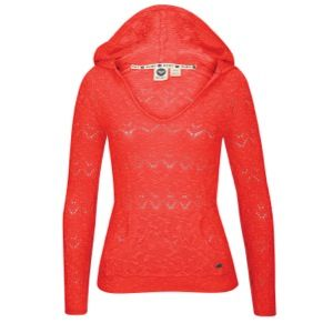 Roxy Easy Breezy Pullover Hoodie Sweater   Womens   Casual   Clothing   Hot Rose
