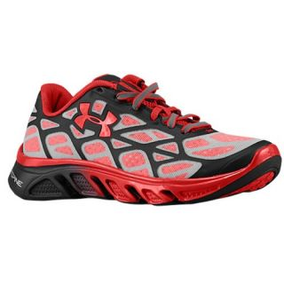 Under Armour Spine Vice   Boys Grade School   Running   Shoes   Black/Red/Metallic Silver