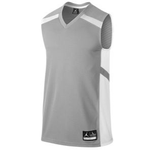 Jordan Team Prime.Fly Flight Game Jersey   Mens   Basketball   Clothing   Matte Silver/White