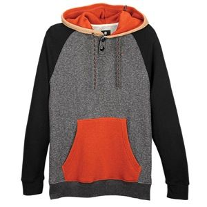 Billabong Balance Pullover Hoodie   Mens   Casual   Clothing   Black Heather
