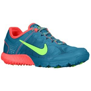 Nike Zoom Wildhorse   Womens   Running   Shoes   Anthracite/Red Violet/Electric Green/White