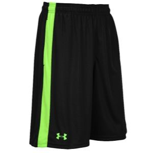 Under Armour Micro Shorts   Mens   Training   Clothing   Black/Hyper Green