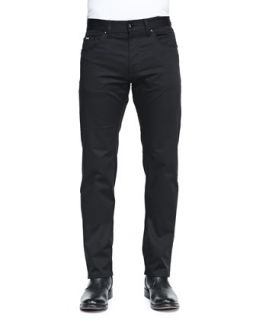 Mens Regular Fit Techno Pants, Black   Boss Hugo Boss   Black (32)