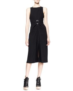 Womens Sleeveless Hook Waist Dress   Proenza Schouler   Black (4)