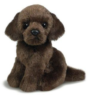 "Ganz 4.5"" Chocolate Labrador Retriever Toys & Games"