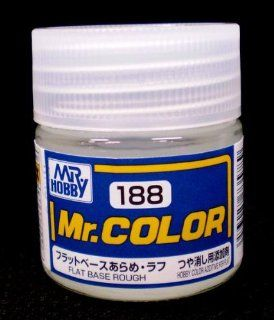 Gundam Mr. Color 188 Flat Base Rough Paint 10mL Bottle Hobby Toys & Games