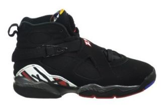 "Air Jordan 8 Retro (GS) ""Playoff"" Big Kids Basketball Shoes Black/Varsity Red White Bright Concord Shoes"