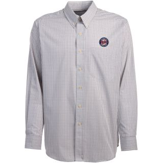 Antigua Minnesota Twins Mens Monarch Long Sleeve Dress Shirt   Size Medium,