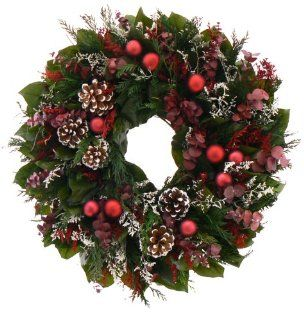 "18"" Wreath   Christmas Memories Collection   Holiday Wreath   Christmas Wreath   Pinecone Wreath   Christmas Wreath Lights"