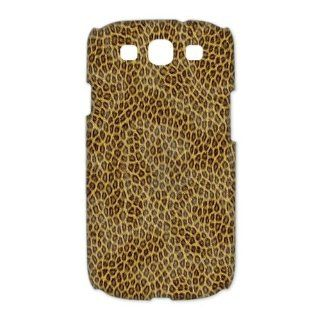Custom Leopard 3D Cover Case for Samsung Galaxy S3 III i9300 LSM 2235 Cell Phones & Accessories
