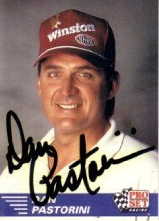 Dan Pastorini (Houston Oilers) autographed 1991 Pro Set NHRA card  Sports Related Collectibles  Sports & Outdoors