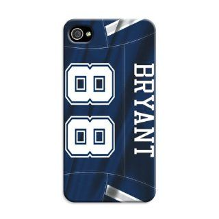 Hot Sale NFL Dallas Cowboys Team Logo Iphone 4 Case Bryant By Lfy  Sports Fan Cell Phone Accessories  Sports & Outdoors
