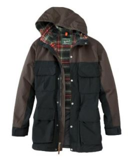 Woolrich Men's Wool Lined Colorblock Mountain Parka Clothing
