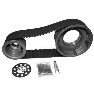 Belt Drives Ltd. 8 mm. 3 in. Kick Start Belt Drive Kit for Harley Davidson 1955 Automotive