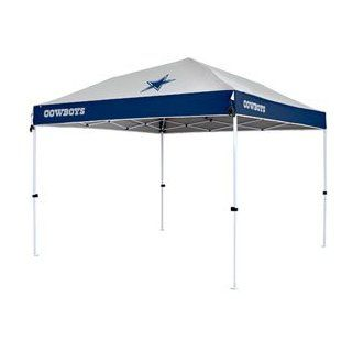 "Dallas Cowboys NFL ""First Up"" 10'x10' Tailgate Canopy by Northpole Ltd. (Straight Leg)  Sports Fan Canopies  Sports & Outdoors"