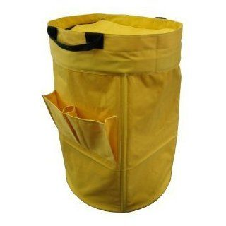 Yu Shan CO USA Ltd 3640114 Heavy duty Laundry Duffel Bag   Yellow Sports & Outdoors