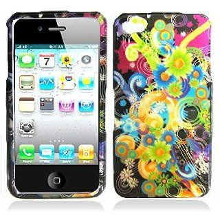 Cuffu   Rainbow   Apple iPhone 4 Case Cover + Screen Protector (Universal 8 cm x 6 cm Customize your own LCD protector Great for any electronic device with LCD display) Makes Perfect Gift In Only One LOWEST Shipping Rate $2.98   Goes With Everyday Style