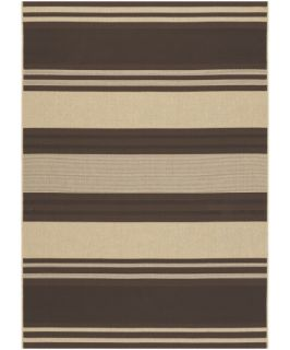Couristan 3071 4702 Five Seasons Chocolate Indoor/Outdoor Rug   Area Rugs