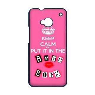 The Burn Book   Mean Girls Movie Best Printed Best Durable Plastic Case HTC ONE M7 Cell Phones & Accessories