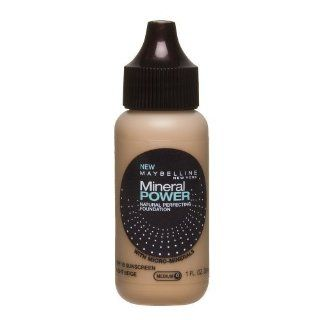 Maybelline Mineral Power Natural Perfecting Foundation, Light Beige 1 fl oz (30 ml)  Foundation Makeup  Beauty