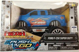 Mean Machines 4X4 Push 'N Go Powered Ford F 250 Super Duty Truck Toys & Games