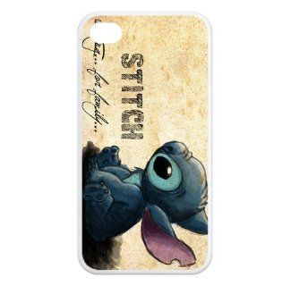 Best FashionCaseOutlet Ohana Means Family Lilo and Stitch TPU Cases Accessories for Apple iphone 4/4s Cell Phones & Accessories