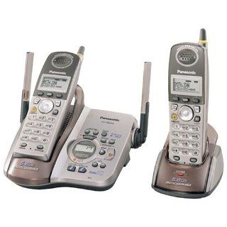 Panasonic KX TG5452M 5.8 GHz DSS Cordless Phone with Talking Caller ID, Answering System, and Dual Handsets  Cordless Telephones  Electronics