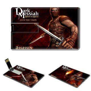 Dark Messiah Of Might And Magic Anime Comic Game ACG Customized USB Flash Drive 4GB Electronics