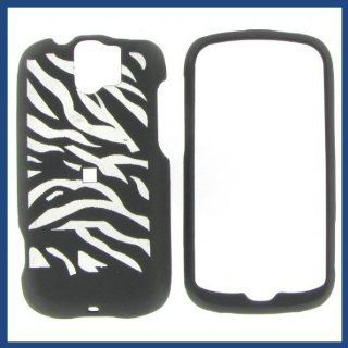 HTC MyTouch Slide IllusiOn Zebra (Black) Protective Case Cell Phones & Accessories